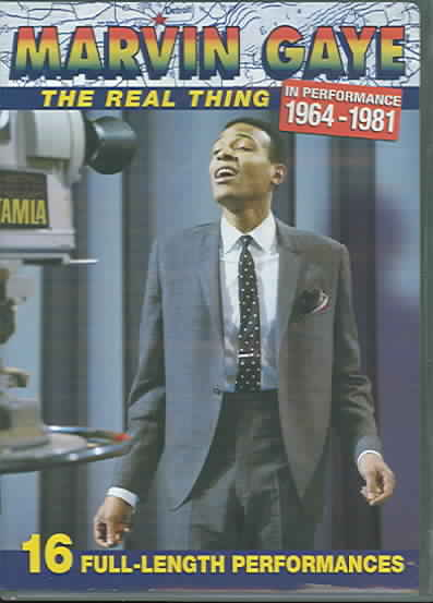 REAL THING IN PERFORMANCES 1964-81 BY GAYE,MARVIN (DVD)